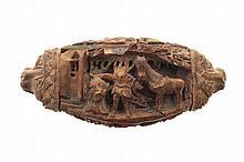 Nineteenth-century carved snuff box