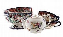 Nineteenth-century Japanese Imari bowl