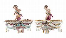 Nineteenth-century German porcelain cherub figure