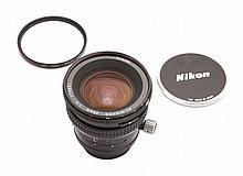PC Nikkor 28 mm. Nikon filter