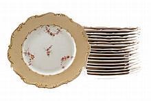 Set early nineteenth-century plates