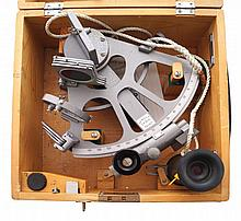Cased Sewell's Cetus sextant