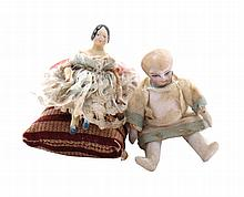 Two nineteenth-century dolls