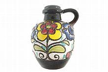 West-German handpainted vase