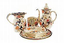 Sixty-nine piece Mason's ironstone Mandarin pattern china