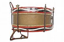 Nineteenth-century regimental drum