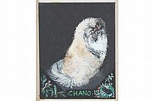 Portrait of Chang the pekingese