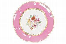 Copeland porcelain parcel gilt plate