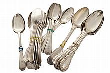 Lot of silver plated spoons