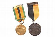 Two war medals