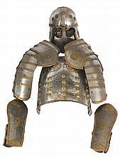 Nineteenth-century armour