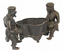 17th century Chinese Ming period bronze censer,