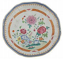 Eighteenth-century Chinese famille rose deep bowl