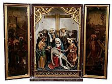 A rare late fifteenth century portable altarpiece