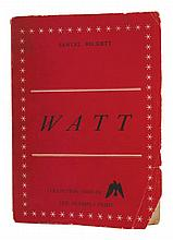 Samuel BECKETT Watt Paris: Olympia Press, 1953