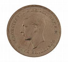 1951 silver crown