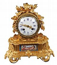 French 8 day mantle clock, circa 1870
