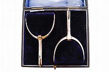 Pair of cased spurs