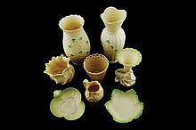 Group of Belleek (nine) pieces