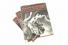 Three books on Italian sculpture