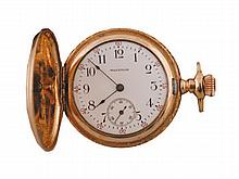 Waltham pocket watch, with hunters case