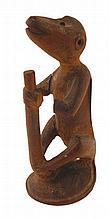 Nineteenth/twentieth-century African carved figure