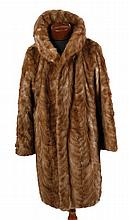 Vintage three quarter length mink jacket