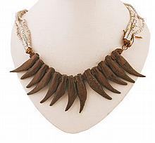 Nineteenth/twentieth-century African bead and