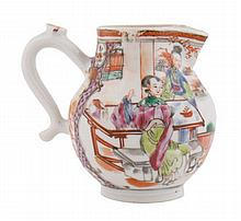 Chinese Qing period mid-eighteenth-century famille