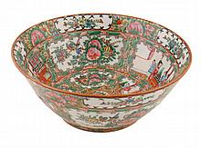 Early twentieth-century Chinese famille rose bowl