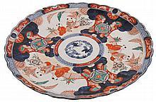 Nineteenth-century Chinese Imari charger of