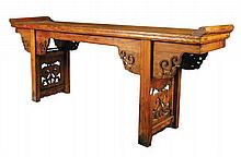 Chinese Qing period altar table,