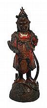 Chinese seventeenth-century period bronze figure