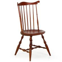 American Benchmade Lancaster Style Windsor Fanback Side Chair