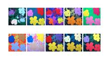 Flowers Suite (Sunday B. Morning), Silk-screen, Andy Warhol