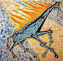 Salvador Dali - Le Girafe en Feu