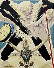 Salvador Dali - The Fight Against Danger