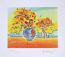 Peter Max - Vase with Tree II