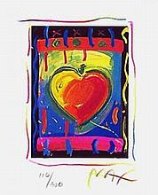 Peter Max - Heart Series V