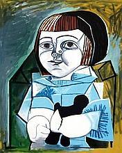 Pablo Picasso - Paloma en Bleu