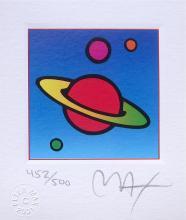 Cosmic Saturn, Ltd Ed Litho (Mini 3.5