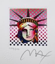 Liberty Head II, Ltd Ed Lithograph (Mini 3.5