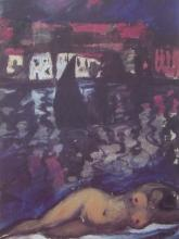 Nude at Cadeques, Ltd Ed Offset Lithograph, Salvador Dali
