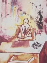 The Businessman, Ltd Ed Offset Lithograph, Salvador Dali