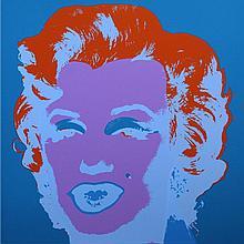 Andy Warhol - Marilyn Monroe (Blue)