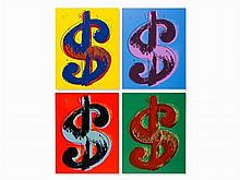 Andy Warhol - Dollar Sign (Suite)