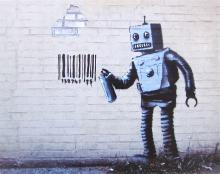 Banksy - Robot