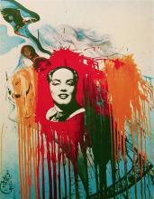 Salvador Dali - Marilyn-Mao