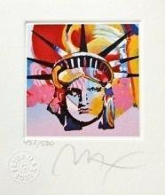 Peter Max - Liberty Head VI