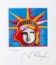Peter Max - Liberty Head I